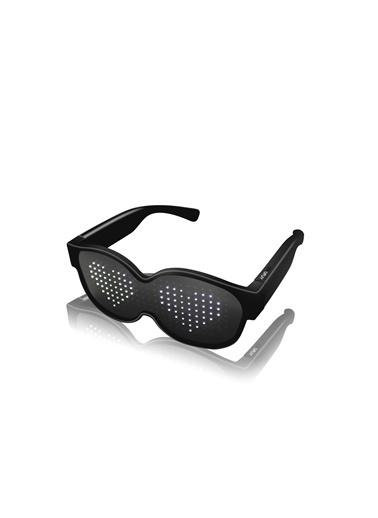 Doppler Smart Led Glasses Beyaz Led Işıklı Kablosuz Eğlence Parti Gözlüğü Renkli